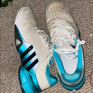 Vintage Adidas Barricade Tennis shoes sz 13 RARE